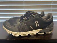 On Cloud Mens Cloudflyer Black Gray Running Shoes Size 8.5 Medium (688450) OC