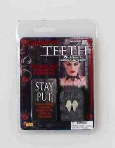 Vampiress Vampire Dracula Fake Teeth Fangs Halloween Costume Accessory