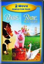 BABE + BABE PIG IN THE CITY New Sealed DVD 2 Movie Family Fun Pack