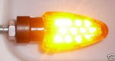 4 LED Amarillo luz direccional luz CAGIVA Planeta,Raptor 125,Roadster,V-Raptor