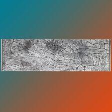 3d Aquarium Rückwand 200x50 cm SD-Line grey ZWEITEILIG