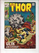"THOR  #173  Marvel 1970  ""ULIK UNLEASHED!"" +  THE RINGMASTER Lee/Kirby Classic!"