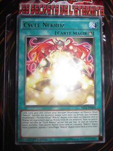 YU-GI-OH! RARE FRANCAIS CYCLE NEKROZ SECE-FR060 MINT NEUF EDITION 1