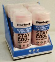 Perfect Cooling Towel - Stay Cool For Hours! NEW - Pink 29' x 11""