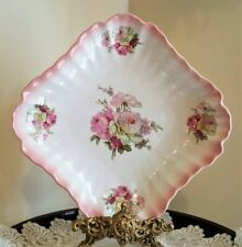 Porcelain Serving Dish *JAMES KENT - OLD FOLEY #13* Staffordshire England ROSES