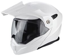 Scorpion casco modulable Adx-1 Solid blanco Perla m
