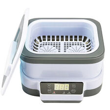 Clearance-Household Ultrasonic Cleaner Jewelry Watch Glass Cleaning Machine 1.2L