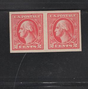 US Scott 534 Mint Never Hinged Pair