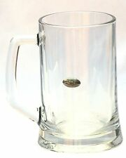 Rugby Ball Motif  Beer Glass 1 Pint Stein Tankard Gift Present FREE UK POSTAGE
