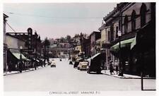 Photo. ca 1951. Nanaimo, BC Canada. Commercial Street