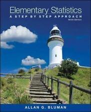 Elementary Statistics:A Step by Step Approach 9th, Allan Bluman, 2013 INSTRUCTOR