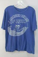 Vintage Rare Original 80s 1986 US Navy I Crossed The Line of Death T-Shirt