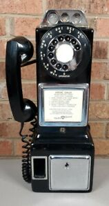 Automatic Electric Rotary Dial 3 Slot Payphone LPB-86-55 Vintage