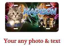 Personalized  License Plate Car Tag , with any text or name