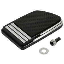 Black Brake Pedal Pad For Harley Touring Road Electra Glide Fat Boy Softail Slim