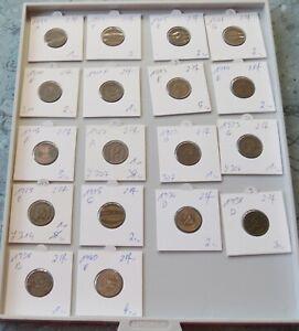 Deutschland  2 Pfennig  , wählen Sie unter Jahrgang 1874 bis  1940