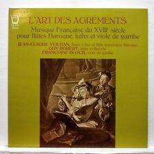VEILHAN, GUY ROBERT, FRANCOISE BLOCH - L'ART DES AGREMENTS - ARION LP NM