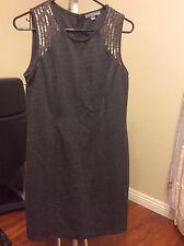 Tinley Road dress L grey color