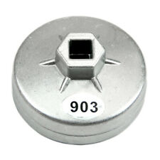 1 * Car Universal  74mm 14 Flute Aluminum Oil Filter Wrench Socket Removal Tool