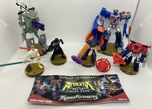 Attacktix Battle Figure Game Star Wars And Transformers Bundle Lot Hasbro