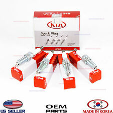 SPARK PLUGS 4 PCS! SET! GENUINE!! FOR VARIOUS HYUNDAI KIA 1884611070