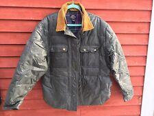 Willis & Geiger Down Jacket Women's size Large Cotton Flannel Lining