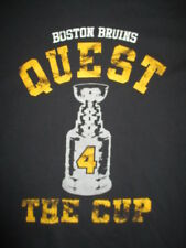 BOSTON BRUINS Quest 4 The Cup (MED) T-Shirt BOBBY ORR
