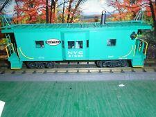 K-LINE O SCALE #K612-1751 BAY WINDOW CABOOSE NEW YORK CENTRAL #21039 w/SMOKE