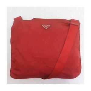 Prada Shoulder Bag  Reds Nylon 1417209