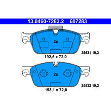 New! Mercedes ATE/Premium One Front Disc Brake Pad Set 607283 0074207920