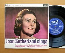"BR 3112 Joan Sutherland Sings Lucia di Lammermoor etc Decca 10"" Mono EXCELLENT"