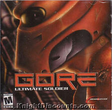 GORE Ultimate Soldier Shooter PC Game NEW Sealed