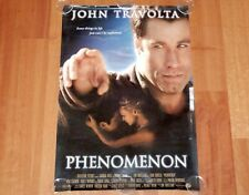ORIGINAL MOVIE POSTER PHENOMENON 1996 FOLDED INTL ONE-SHEET TRAVOLTA