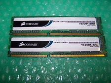 4 GB CORSAIR PC3-10600U DDR3 1333 MHz Non-ECC senza buffer RAM (2x 2 GB)