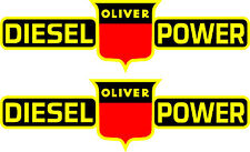 "2 OLIVER Diesel Power  Decals 16""  FREE SHIPPING"
