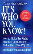 Its Who You Know: How to make Business Connection