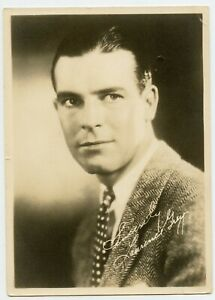 Lawrence Gray Hollywood Movie Actor Vintage Photo