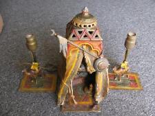 RARE 3pc LAMP SET/ AUSTRIAN VIENNA COLD PAINTED SCULPTURES ( Bergman / Chotka )