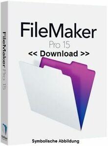 FileMaker Pro 15 Download Lizenz