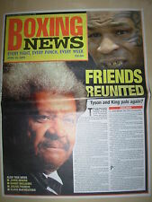 BOXING NEWS 25 APRIL 2003 MIKE TYSON REUNITED WITH DON KING