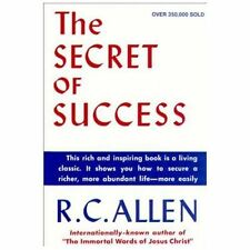 SECRET OF SUCCESS - NEW PAPERBACK BOOK