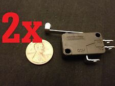 2x Micro Roller Long Handle Lever Arm Normally Open Close Limit Switch KW7-3 b10