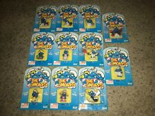 Huge Lot of 11 Vintage 1995 Smurfs Collectible Figures Irwin *NEW/SEALED!*