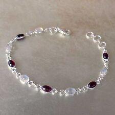 Markenlose Echte Edelstein-Armbänder mit Mondstein für Damen