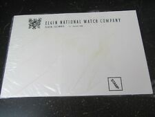 NEW Souvenir Pkg 1995 Great Lakes Regional ELGIN WATCH GILBERT CLOCK Postcards