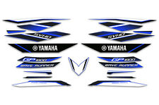 2017 YAMAHA WaveRunner GP 1800 Graphic Decal Kit OEM Stickers Jet Ski BLUE