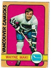 1972-73 OPC O-Pee-Chee #84  WAYNE MAKI Vancouver Canucks