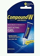 3x Compound W Wart Remover Fast-acting Gel,  7g each