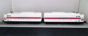 NIB - Lionel Burlington FT AA Diesel Locomotive Set w/Rail Sounds - NIB