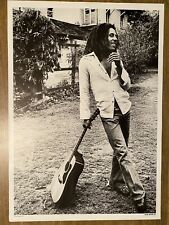 """More details for bob marley poster 24"""" x 36"""" mint condition 1985 issue printed by new images eec"""
